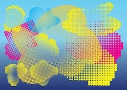 medio tono de gráficos vectoriales