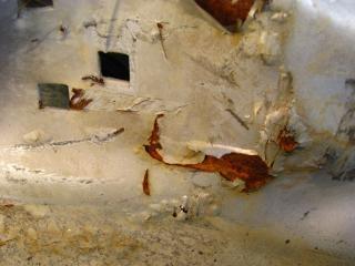 metal oxidado, pelado