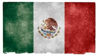 México grunge bandera