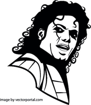 Michael jackson retrato