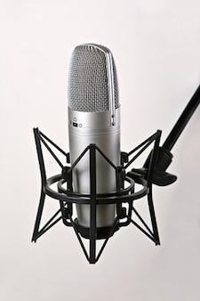 Micrófono de grabación de material de imagen
