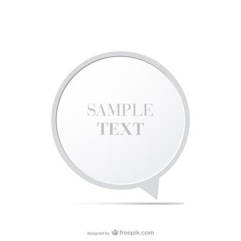 Diseño de marco redondo minimalista