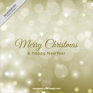 Minimalista tarjeta de Navidad con copos de nieve