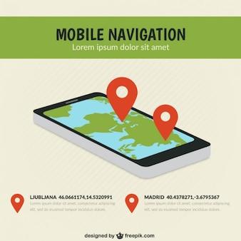 Navegación móvil
