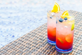 Mocktail de frutas