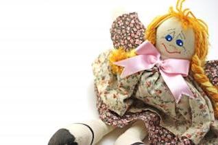 moda muñeca hecha a mano, hermosa