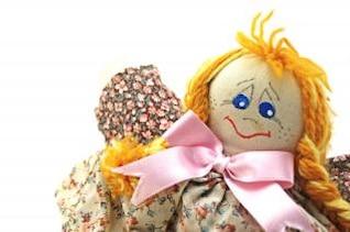 moda muñeca hecha a mano, un