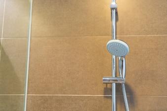 Moderno interior del cuarto de baño.