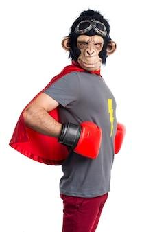 Mono de superhéroe