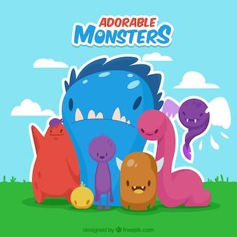 Monstruos adorables