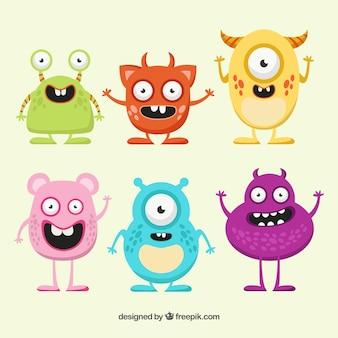 Monstruos divertidos