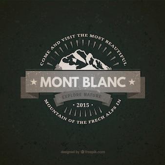 Insignia vintage Mont Blanc