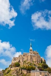 mont saint michel brown