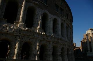 Monumento de Italia Roma, las estructuras