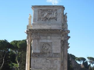 monumento del emperador Constantino Roma