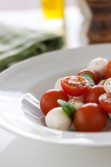 Mozzarela con tomates