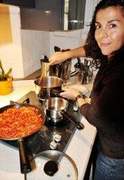mujer de la cocina