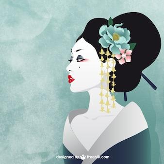 Mujer japonesa
