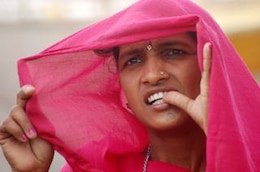mujer tribal