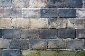 Muro de ladrillos antiguo