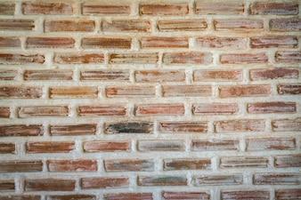 Muro de ladrillos estropeado