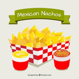 Nachos mexicanos