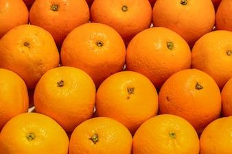 Naranjas bien ordenadas