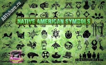 nativos americanos símbolos