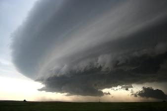 Naturaleza tiempo cielo nubes tormenta celular súper
