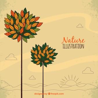 Ilustración de la naturaleza