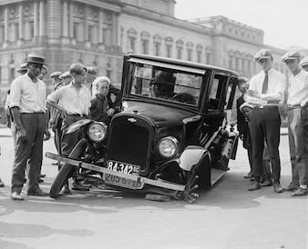 Naufragio defecto EE.UU. coche del automóvil roto