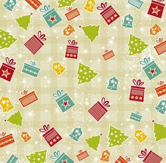 Navidad de fondo vector de imagen