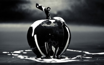 Negro de cristal de Apple
