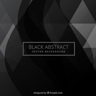Negro fondo abstracto