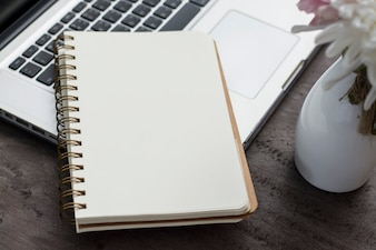 Netbooks taza página vacía
