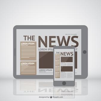 Noticias en nuevos dispositivos