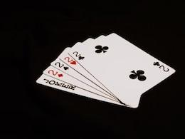 noche de póquer, negro