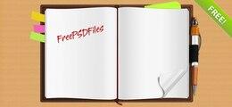Notebook impresionante Crespo PSD Gráfico