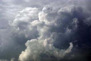 nubes de tormenta, lluvia