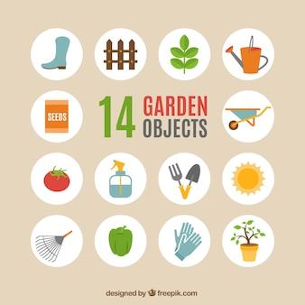 Objetos de jardín