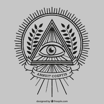Ojo dentro de un triángulo