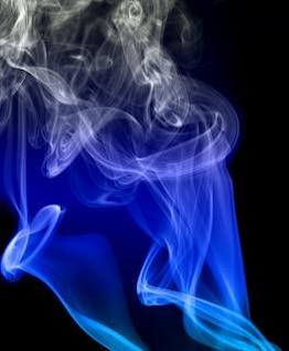 ola de humo mágico incienso
