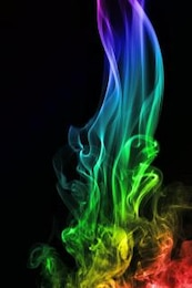 olor a humo de color abstracto