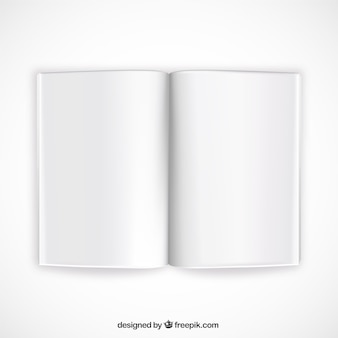 maqueta libro abierto