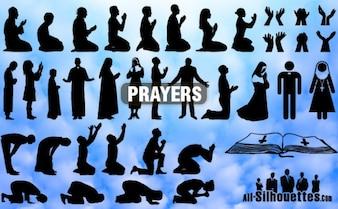 oraciones todas las siluetas