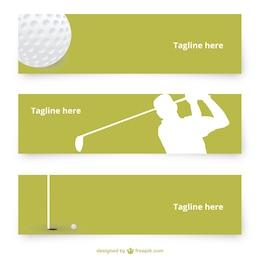 Pack de banners de golf