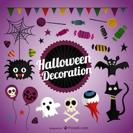 Pack de decoración de Halloween