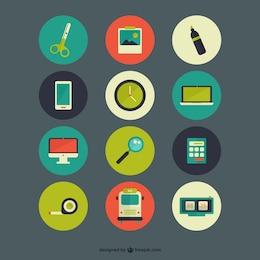 Pack de iconos a color