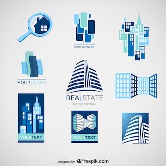 Pack de logos de inmobiliarias