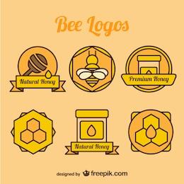 Pack de logotipos de miel
